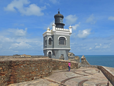 Del Moro Lighthouse in San Juan Puerto Rico